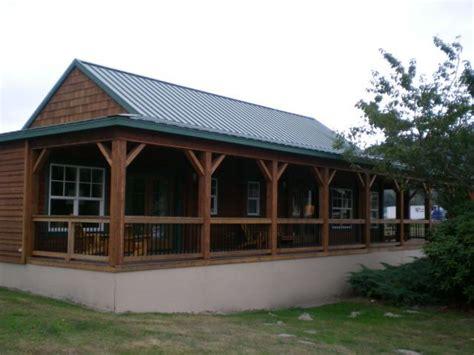 aspen side deck timberland homes models