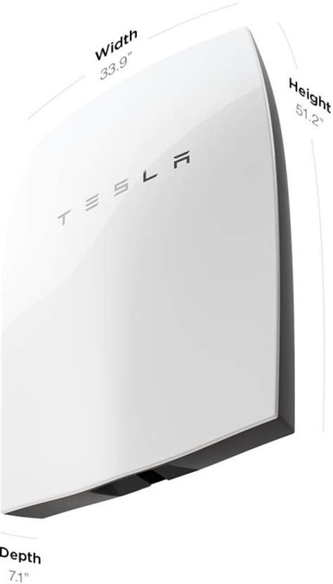 Tesla Battery Capacity The Tesla Powerwall A Large Rechargeable Battery Capable