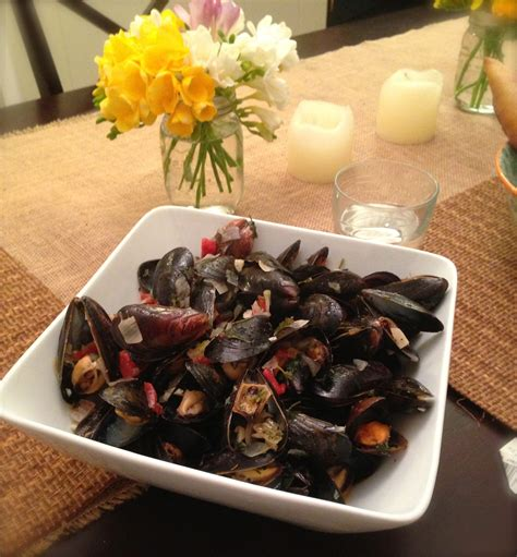 seafood at home adorned with love