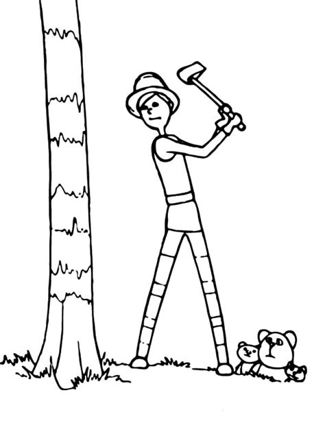 Online Free Coloring Pages For Kids Coloring Sun Part 25 Tree Cut Out Coloring Pages