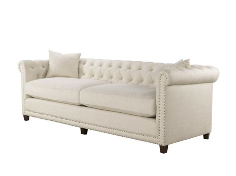 spectra sofa spectra home dumont sofa linen fabric