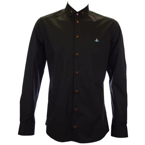 Black Shirt vivienne westwood slim fit classic black shirt vivienne
