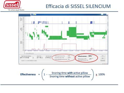 cuscino funziona come funziona il cuscino antirussamento silencium 174 di sissel