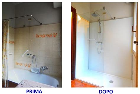 cambio da vasca a doccia sostituzione vasca con doccia