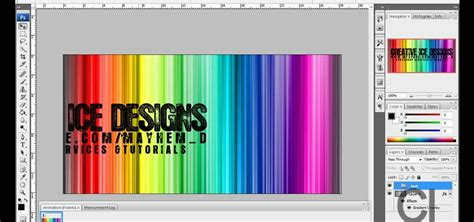 design banner adobe photoshop how to make an animated myspace banner in photoshop cs3