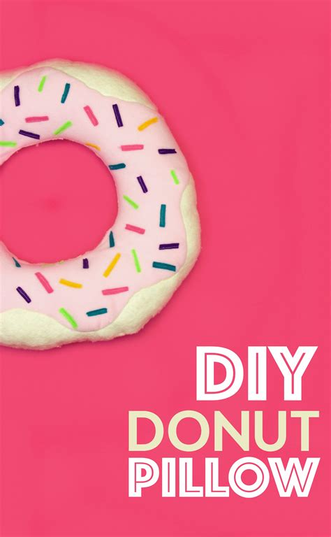 Donut Pillow Diy by Diy Donut Pillow A Craft In Your Day