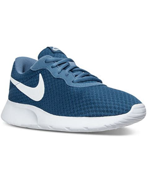 macys womens athletic shoes nike s tanjun casual sneakers from finish line