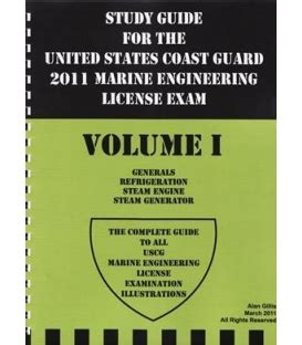 1st engineer unlimited study guide steam motor and gas turbine books marine engineering workbook maryland nautical