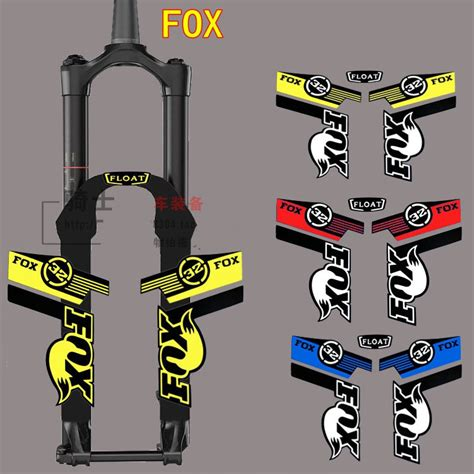 Rockshox Frame Stickers by Popular Fox Stickers For Bikes Buy Cheap Fox Stickers For