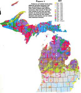 Michigan Public Land Map by Michigan Fever Part 1