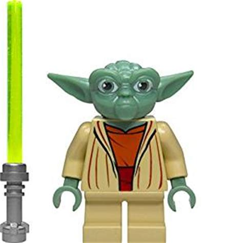 Yoda Ori Lego Minifigure Starwars lego wars master yoda minifigure with green lightsaber toys