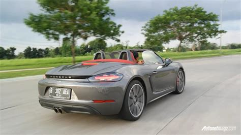 porsche boxster indonesia porsche 718 boxster s review gateway to porscheland