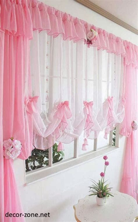 kitchen curtains designs pink kitchen window curtains