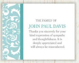 thank you card wording thank you card after funeral sympathy thank you cards wording for thank