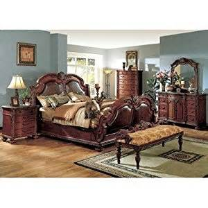 porter sleigh bedroom set in cherry size king