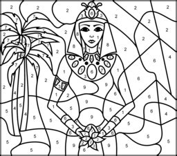 hard coloring pages princess egypt article colouring pages