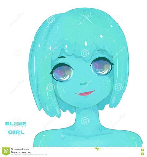 cara membuat slime happy girl hot slime girl stock vector image of illustration happy