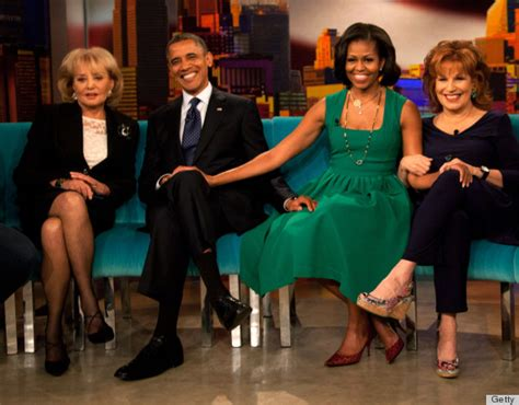 michelle obama on the view michelle obama barack obama holds hands talk first kiss