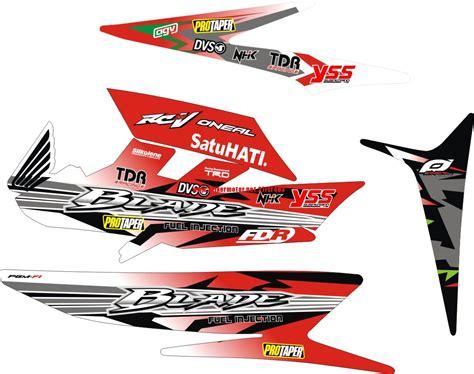 Striping Honda Blade 2024 striping stiker motor honda blade click stikermotor net stikermotor net