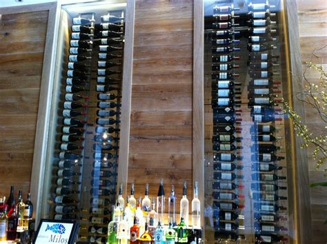 What Is The Best Wood For Cabinets Commercial Wine Cellars Milos Wine Display Miami Florida
