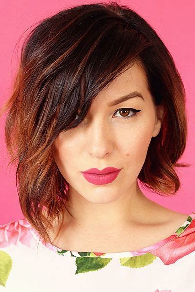 ways to style asymmetrical hair 17 best ideas about asymmetrical hairstyles on pinterest