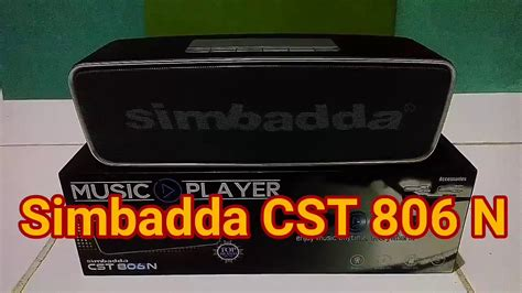Speaker Simbadda Cst 4800 N simbadda cst 806 n suaranya mantab gila