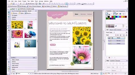 webplus x8 tutorial serif webplus x6 tutorial creating a site from scratch