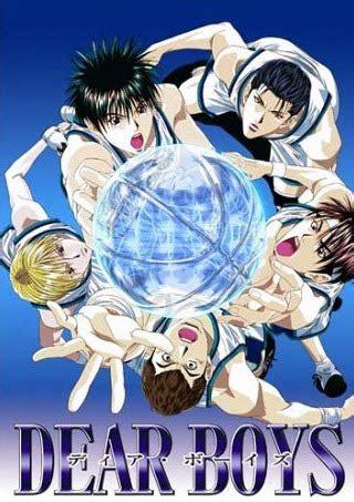 kartun jepang anime dear boys hoop days