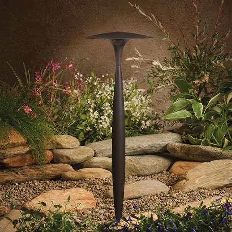 Kichler Landscape Lights Kichler Landscape Lighting 15833 Contemporary Landscape Led Collection Path Contemporary