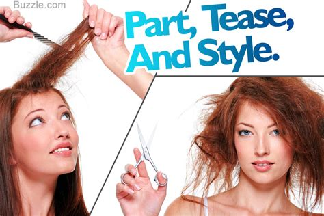 Teasing Hairstyles by Learn How To Hair To Make It Look Voluminous