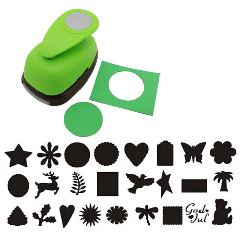 Craft Paper Punches - 2 quot inch paper lever craft punch tool scrapbooking cards
