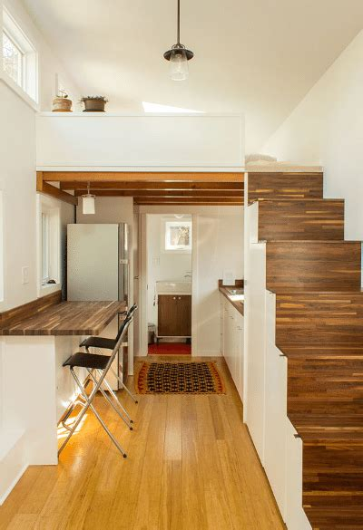 shelter wise this tiny home has plenty of space for visitors