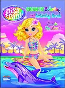 lisa frank coloring books lisa frank gigantic coloring amp activity book fun in the