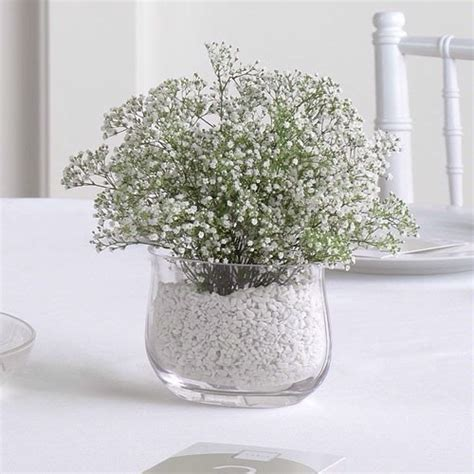 baby s breath wedding centerpiece craft ideas pinterest