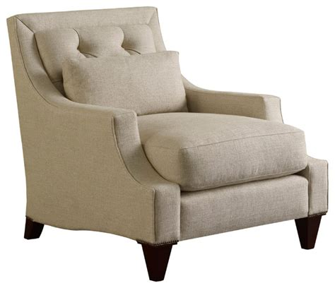 max club chair tufted baker furniture traditional