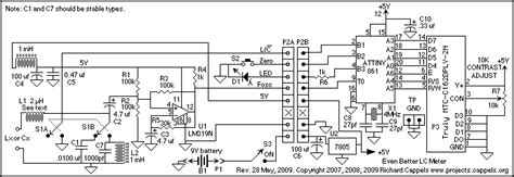inductance meter using pic microcontroller lc meter based on the avr attiny861 measuring and test circuit circuit diagram seekic