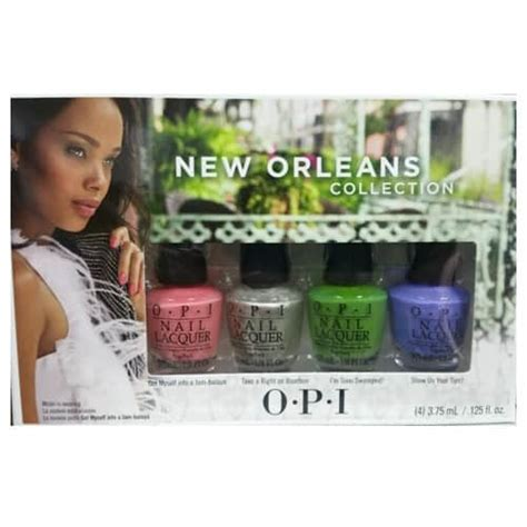 Opi Mini New Orleans Collection opi new orleans mini nail varnish collection