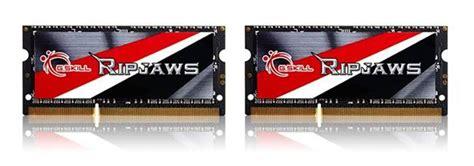 V Memory Laptopnotebook So Dimm Ddr3l Low Voltage Pc12800 8gb g skill announces ddr3l 2133mhz cl11 1 35v 8gb 4gbx2 so dimm memory kit eteknix