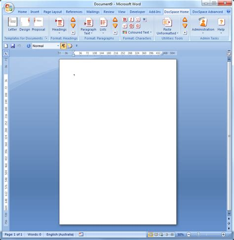 what is a microsoft word template wt001