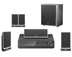 lg lht854 1000 watt dvd disc home theater in a box by lg