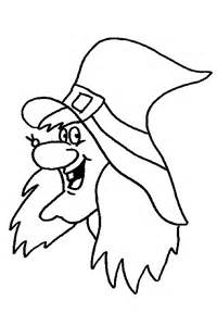 halloween coloring pages monsters witches ghosts cliparts