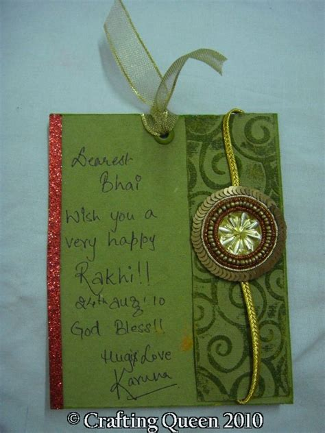 Handmade Greeting Cards For Raksha Bandhan - best 25 rakhi cards ideas on