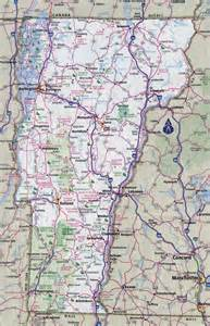 Vermont State Map by Large Detailed Roads And Highways Map Of Vermont State