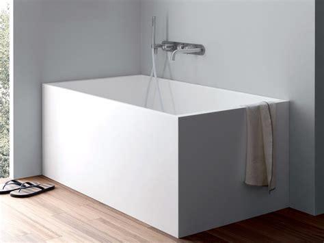 vasca da bagno mini vasca da bagno rettangolare in corian 174 unico mini by rexa