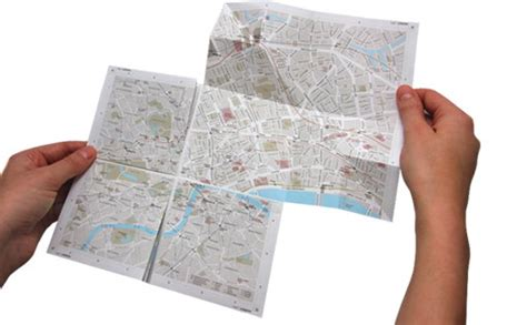 How To Make A Paper Map - ingenious zoomable paper map wired