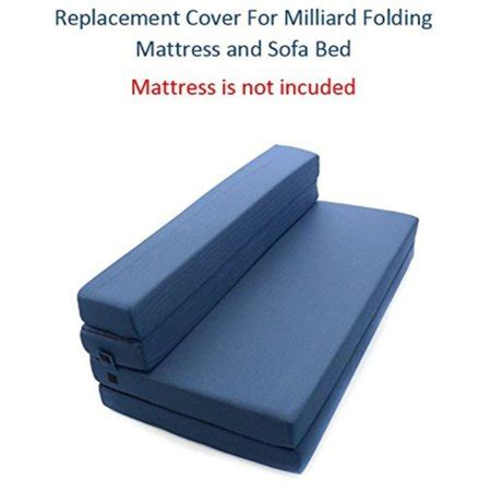Cover Sofa Bed No 4 replacement cover for milliard tri fold mattress and sofa