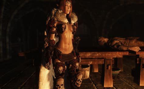 tera skyrim hair mod tera armor re texture for skull armor at skyrim nexus