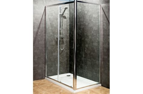 Atlantic Shower Door Atlantic 1100mm Sliding Shower Door Trade Bathrooms Sliding Shower Doors