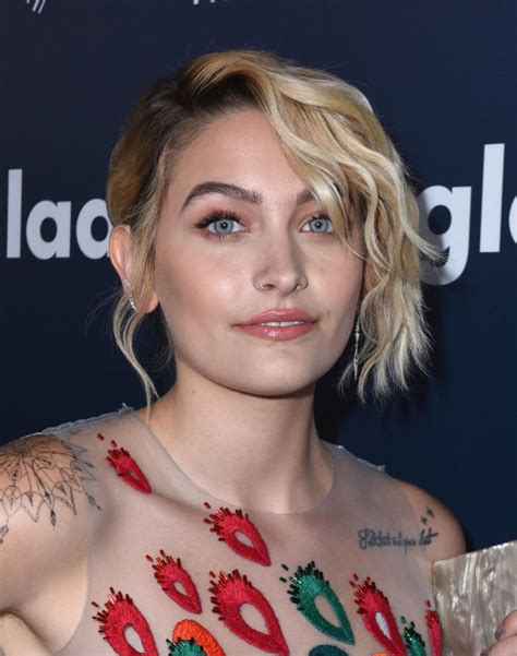 Trump Home Address by Paris Jackson At 2017 Glaad Media Awards In Los Angeles 04