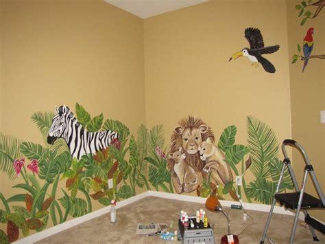 Jungle Themed Nursery Ls by Jungle Nursery I Painted Paintings And Murals Jungle Nursery Nursery And Babies